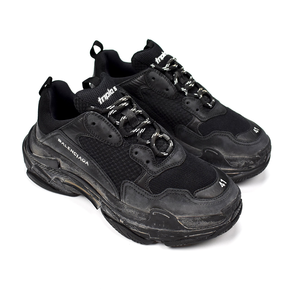 BALENCIAGA TRIPLE S - FULL BLACK