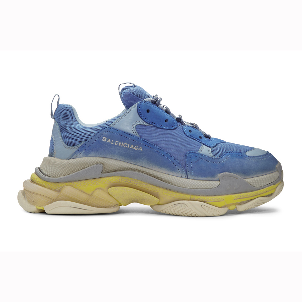 BALENCIAGA TRIPLE S - BLUE