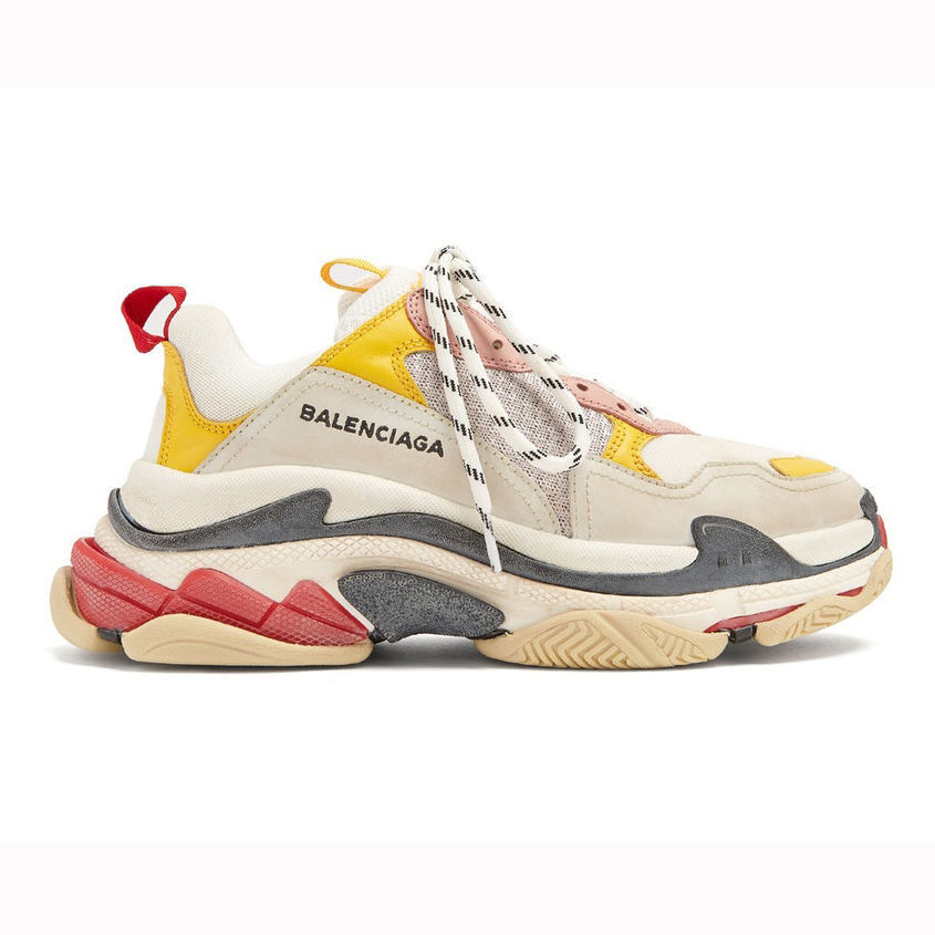 BALENCIAGA TRIPLE S - YELLOW CREAM